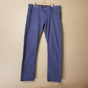NWOT Blue Oakley Slim Fit Pants